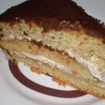 Tarta de Chocolate con Crema de Moka