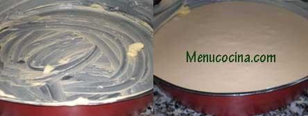 rellenar el molde