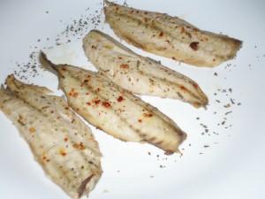 Filetes de caballa al horno