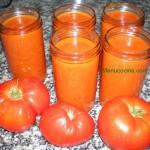 Conserva de tomate casero