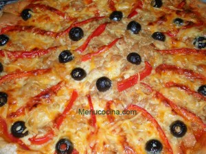 pizza tres quesos