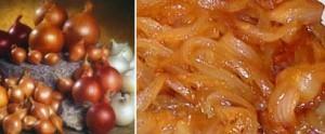 salsa de cebolla