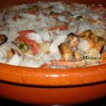 arroz con marisco