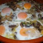 Cazuelada con huevos
